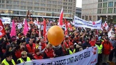 Warnstreik 11. März